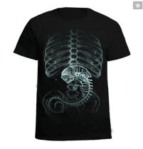 Alien vs. Predator Cotton Black T-Shirt Costume