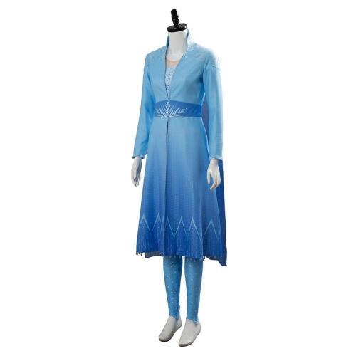 Frozen 2 Princess Elsa Cosplay Costume