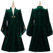 Harry Potter Kids Children Robe Coat Minerva McGonagall Halloween Carnival Suit Cosplay Costume