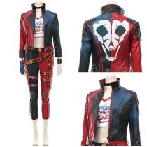 Suicide Squad: Kill the Justice League T-shirt Pants Outfit Harleen Quinzel/Harley Quinn Halloween Carnival Suit Cosplay Costume