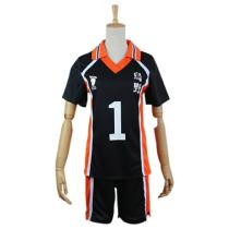 Haikyuu Cosplay Costume Karasuno Koukou High School Volleyball Club Sawamura Daichi Sportswear Shirt Jerseys