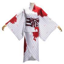 Demon Slayer: Kimetsu no Yaiba Kimono Outfit Kamado Nezuko Halloween Carnival Suit Cosplay Costume