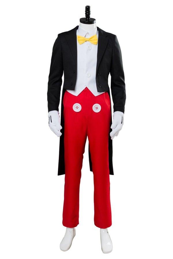 Mouse Dinner Suit Tuxedo Halloween Cosplay Costume