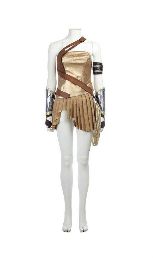 2017 Film Wonder Woman Gal Gadot Diana Dress Cosplay Costume