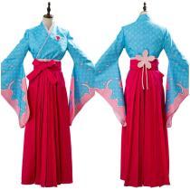 Amamiya sakura Outfit Projectsakura War Women Kimono Cosplay Costume