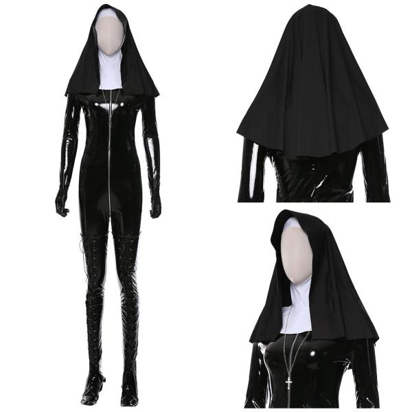 Hitman 5: Absolution Sister Rosewood Orphanage Suit Nun Cosplay Costume