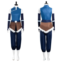 The Legend of Korra Season 4 Top Pants Outfits Korra Halloween Carnival Suit Cosplay Costume