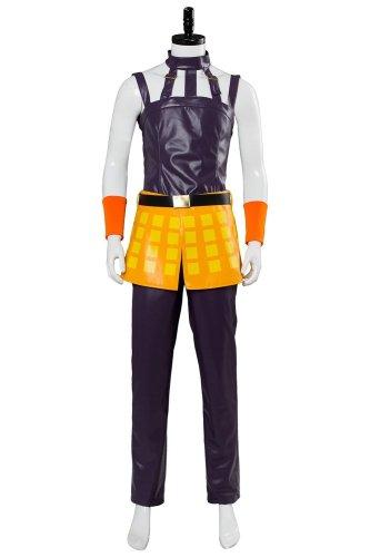 JoJo's Bizarre Adventure: Golden Wind Narancia Ghirga Cosplay Costume