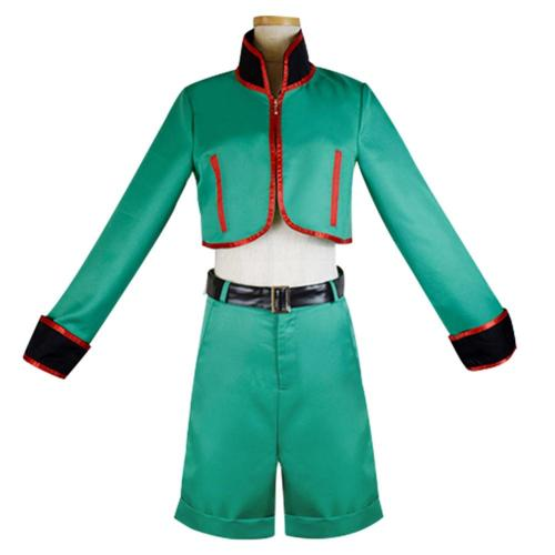 Hunter X Hunter Gon Freecss Cosplay Costumes Men Top Short Outfits Halloween Carnival Costumes