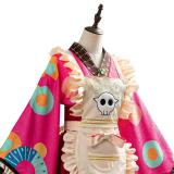 Toilet-Bound Hanako-kun Nene Yashiro Kimono Outfit Maid Dress Cosplay Costume