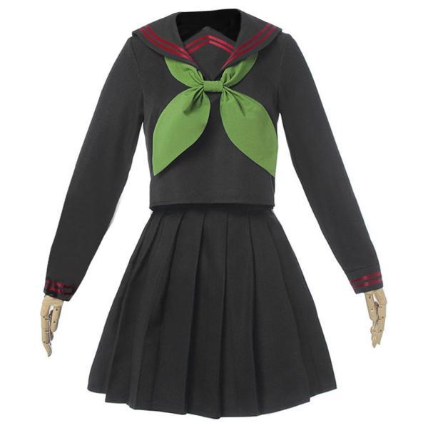 Demon Slayer Nezuko Kamado Sailor Uniform Female Girls Cosplay Costume