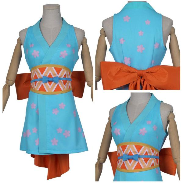 One Piece Wanokuni Style Nami Outfit Wano Country Nami Halloween Carnival Costume Cosplay Costume
