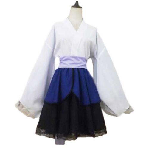 Naruto Shippuden Sasuke Uchiha Robe Lolita Cosplay Costume