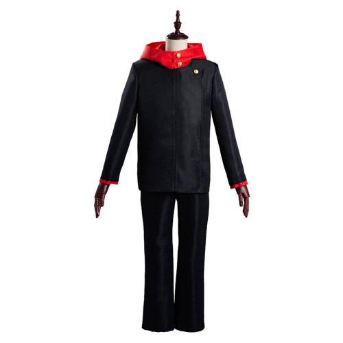Jujutsu Kaisen School Uniform Outfit Yuji Itadori Halloween Carnival Suit Cosplay Costume