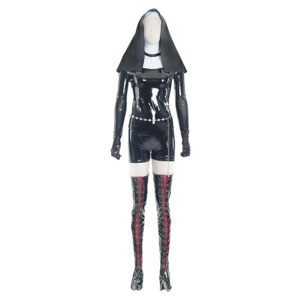 Nun Sister Hitman 5: Absolution Rosewood Orphanage Uniform Cosplay Costume