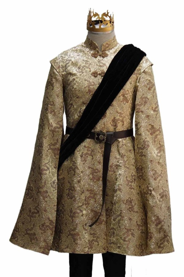 Game of Thrones Joffrey Baratheon Cosplay Costume Custom Made