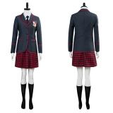 The Umbrella Academy School Uniform Women Cosplay Costume