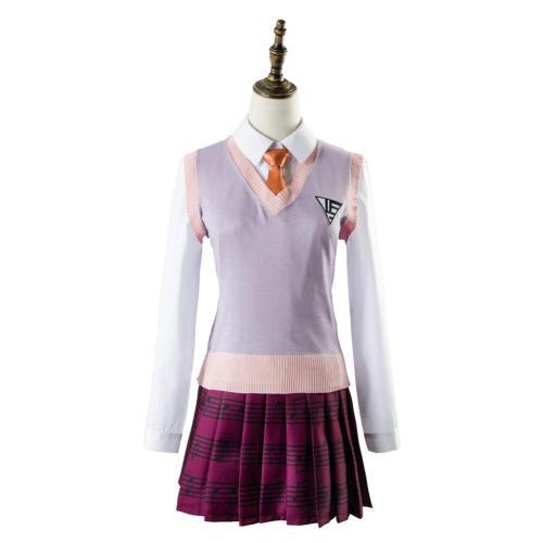 Danganronpa 3 Akamatsu kaede Outfit Dress Cosplay Costume