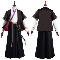 Fate/Grand Order FGO Hanfu Coat Pants Outfits Lang Lin Wang Halloween Carnival Suit Cosplay Costume