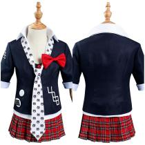 Danganronpa Kids Children Uniform Skirt Outfit Enoshima Junko Halloween Carnival Suit Cosplay Costume