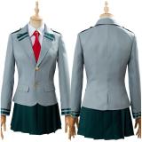 Boku no Hero Academia My Hero Academia Tsuyu Ochaco Uraraka School Uniform Cosplay Costume