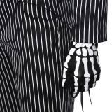 The Nightmare Before Christmas Jack Skellington Uniform Cosplay Costume