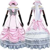 Anime Black Butler Dress Outfit Ciel Phantomhive Halloween Carnival Suit Cosplay Costume