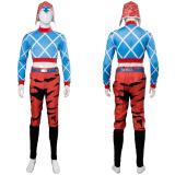 JoJo's Bizarre Adventure: Golden Wind Guido Mista Cosplay Costume