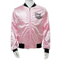 Movie Grease Pink Ladies Silks and Satins Jacket Black Beam Kids