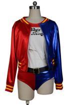 DC Comics Suicide Squad Harley Quinn Coat Cosplay Costume