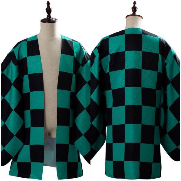 Demon Slayer Kamado Tanjirou Coat Cosplay Costume