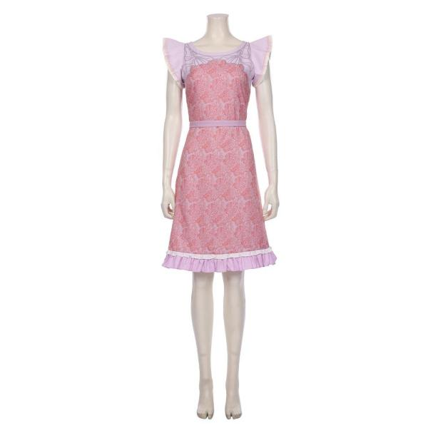 Final Fantasy VII Remake Halloween Carnival Outfit Aerith Gainsborough Pink Dress Cosplay Costume