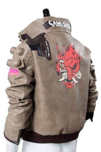 Video Game Cyberpunk 2077 V Jacket Cosplay Costume Merchandise