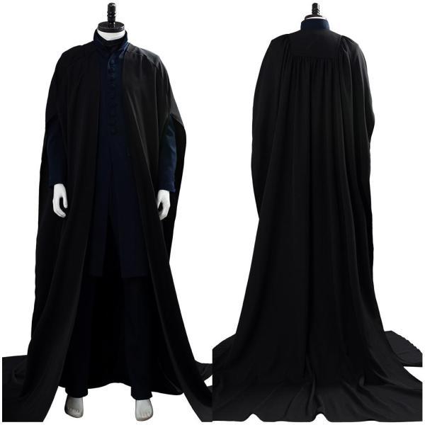 Harry Potter Severus Snape Robe Suit Cosplay Costume
