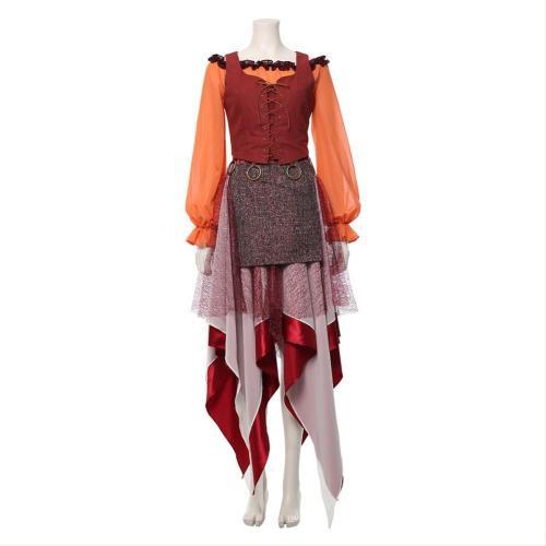 Hocus Pocus-Adult Mary Sanderson Costume Cosplay Costume
