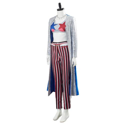 Harley Quinn Uniform Outfit Birds of Prey Cosplay Costume