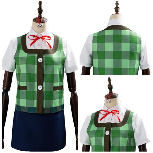Animal Crossing Game Outfit Isabelle Halloween Women Uniform Cosplay Costume
