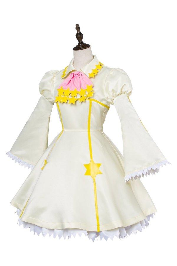 Cardcaptor Sakura :Clear Card Kinomoto Sakura Star Battle Dress Cosplay Costume