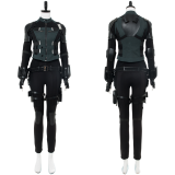 Avengers 3 :Infinity War Black Widow Natasha Romanoff Outfit Cosplay Costume whole set