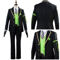 Game Twisted-Wonderland Halloween Carnival Costume Malleus/Sebek/Silver Cosplay Costume Uniform Outfit for Adult