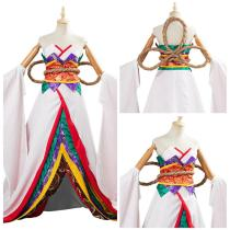 Fate/Grand Order Women Kimono Dress Outfit Kijyo Koyo Halloween Carnival Suit Cosplay Costume