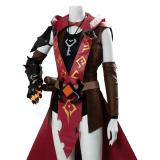 Ashe Game Overwatch OW Outfit Cosplay Costume
