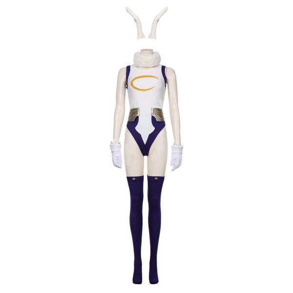 My hero Academic Bunny Girl Cosplay Bodysuit Rompers Suit Miruko's Sexy Jumpsuit Rabbit Jumpsuit Cosplay Costume