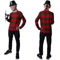 A Nightmare on Elm Street-Munker Street Freddie Kruger Top Cosplay Costume