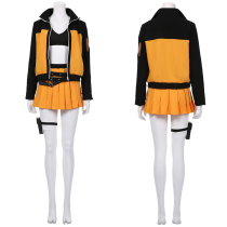 NARUTO Women Dress Outfit Naruto Uzumaki Halloween Carnival Suit Cosplay Costume