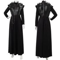 Game of Thrones Season 8 S8 E2 Sansa Stark Leather Armor Cosplay Costume