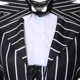 The Nightmare Before Christmas Jack Skellington Striped Suit Cosplay Costume