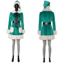 Last Christmas Kate Suit Cosplay Costume