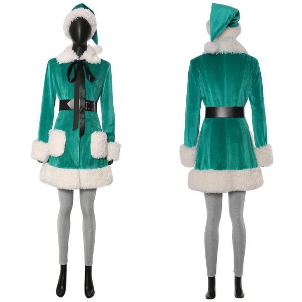 Last Christmas Kate Suit Cosplay Costume