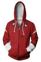 Anime Inuyasha Merchandise Inuyasha Hoodie 3D Zip Up Sweatshirt Unisex